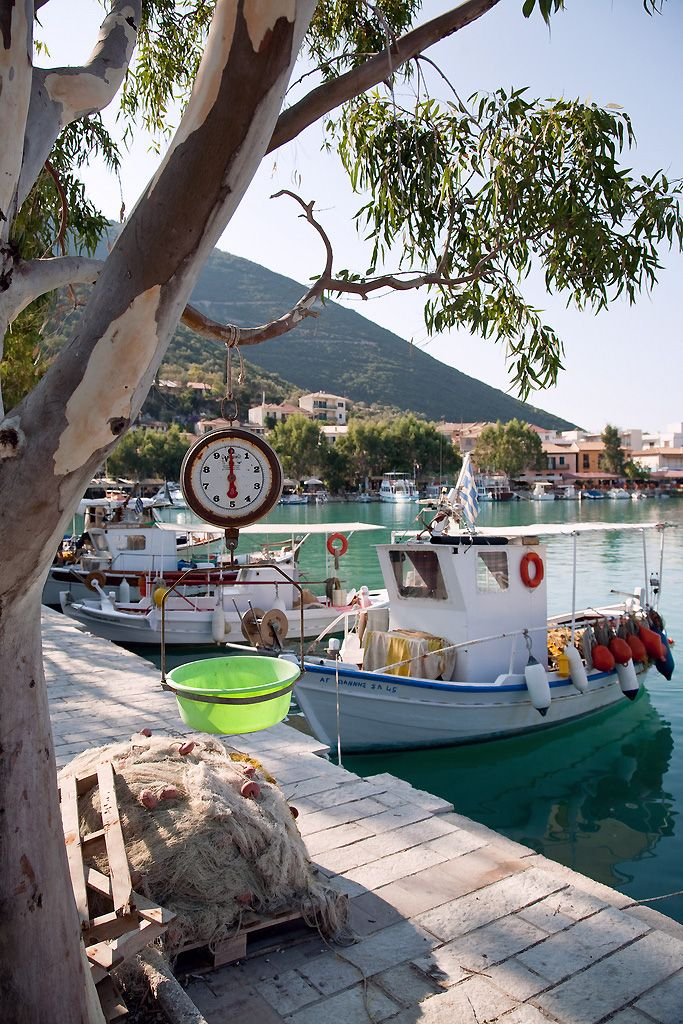 Yacht Charter Lefkada island Vasiliki Harbour Sailing in Greece with GreekSunYachts