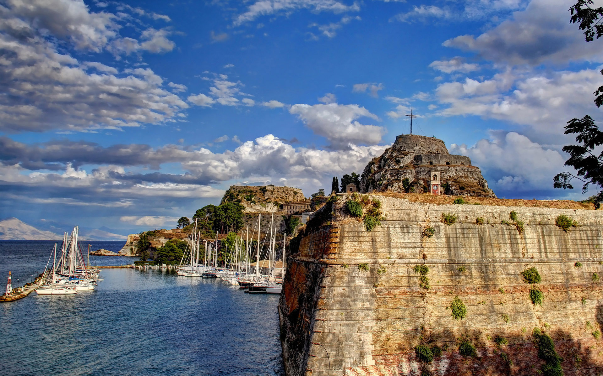 Yacht Charter Corfu island Sailing in Greece and GreekSunYachts
