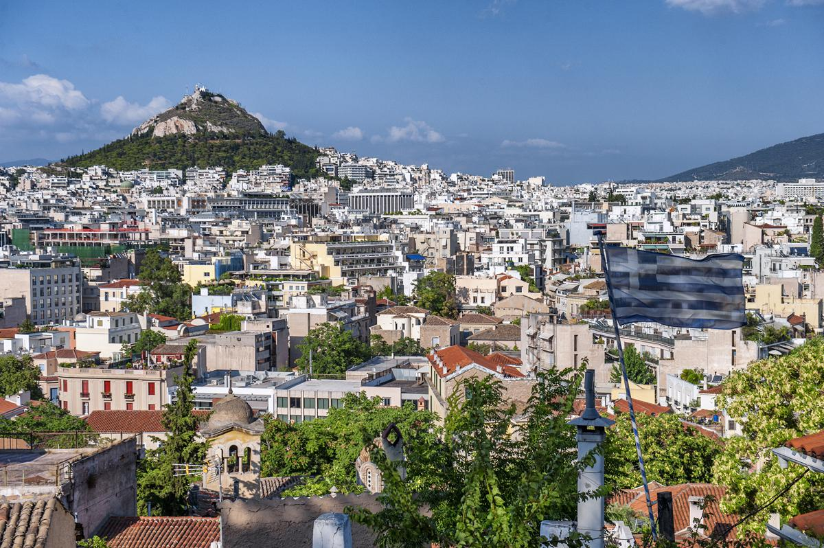 Athens Guide Lycabettus Hill Greek Sun