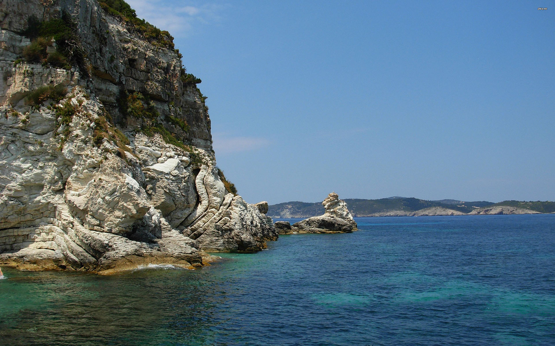 Yacht Charter Paxi Sailing in Greece and GreekSunYachts