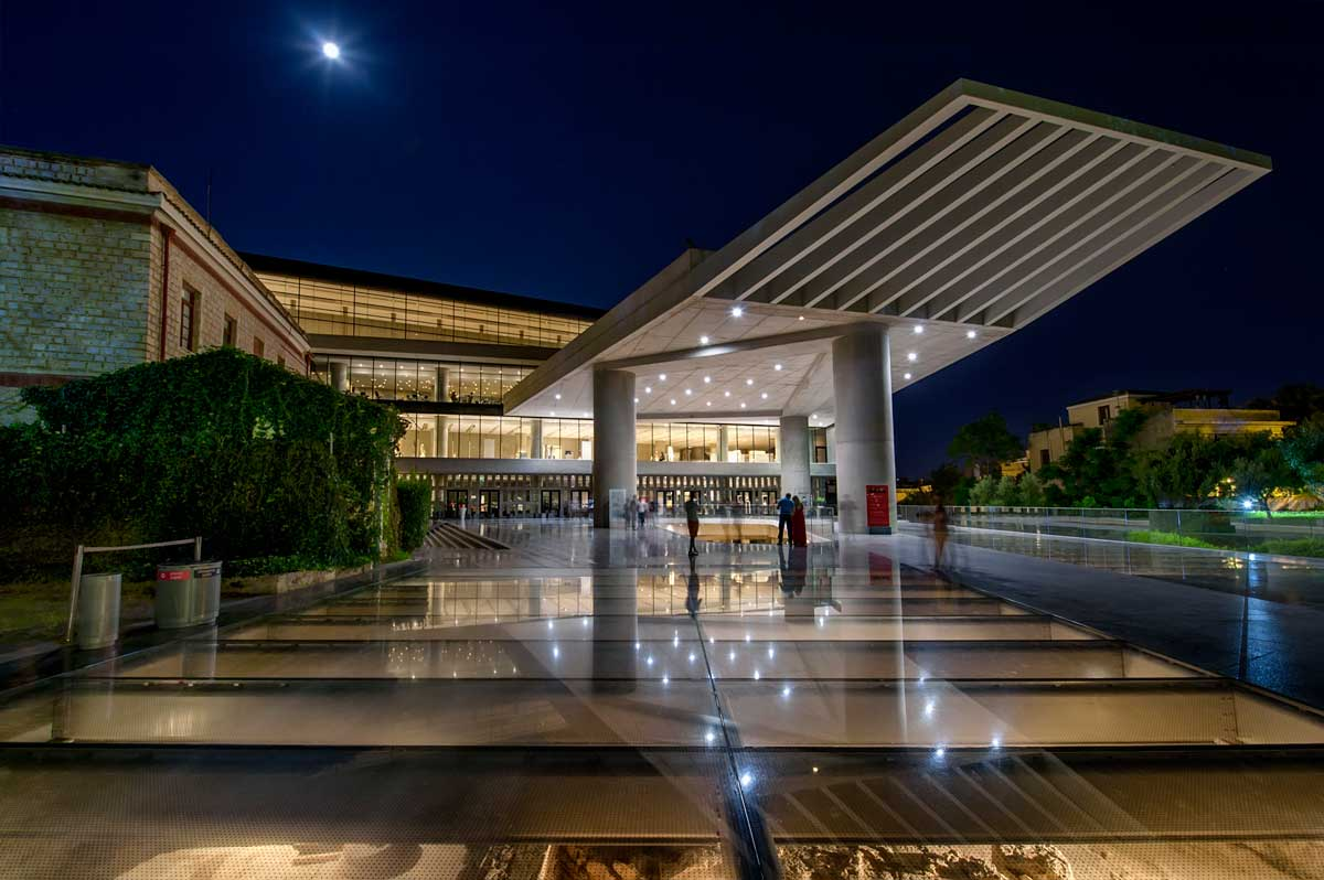 Athens Guide The Acropolis museum Greek Sun